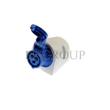 Gniazdo stałe 16A 3P 230V niebieskie IP44 113-6-167713