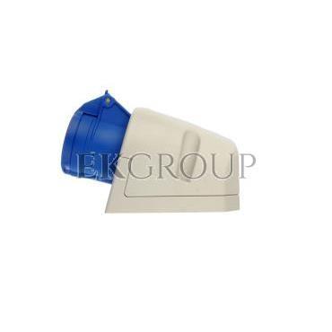 Gniazdo stałe 16A 3P 230V niebieskie IP44 113-6-167714