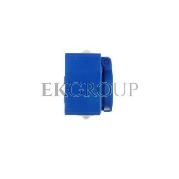 Gniazdo tablicowe 10/16A 2P Z 230V IP54 niebieskie /z puszką/ 104-0hp-168228