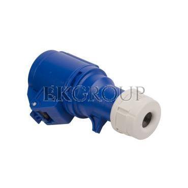 Gniazdo przenośne 16A 3P 230V niebieskie IP44 SHARK 213-6-167993