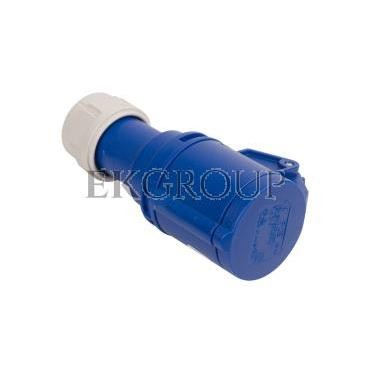 Gniazdo przenośne 16A 3P 230V niebieskie IP44 SHARK 213-6-167994