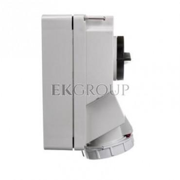 Gniazdo stałe z wyłącznikiem 0-1 duże 32A 5P 400V IP67 /blokada mechaniczna/ 75252-6-174960