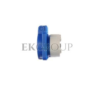 Gniazdo tablicowe 10/16A 2P Z 230V niebieskie IP54 104-0b-168232