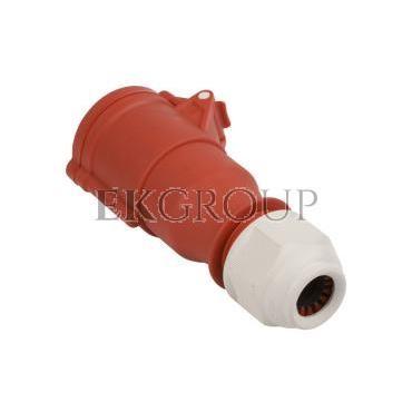 Gniazdo przenośne 32A 4P 400V czerwone IP44 SHARK 224-6-167995