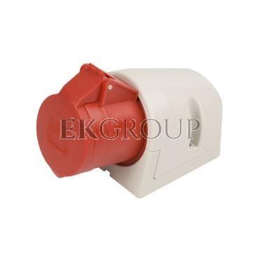 Gniazdo stałe 32A 4P 400V czerwone IP44 124-6-167719