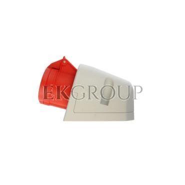 Gniazdo stałe 16A 4P 400V czerwone IP44 114-6-167721