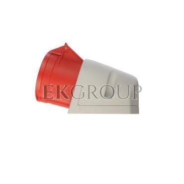 Gniazdo stałe 32A 5P 400V czerwone IP44 125-6-167727