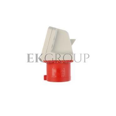 Wtyczka odbiornikowa 32A 5P 400V czerwona IP44 525-6-174308