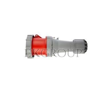 Gniazdo przenośne 63A 5P 400V czerwony IP67 POWER TWIST 235-6-168006
