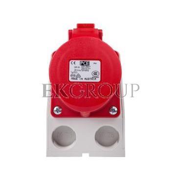 Gniazdo KOMBI z rozłącznikiem 0-1 M25 16A 5P 400V czerwone IP44 915-6w-174858