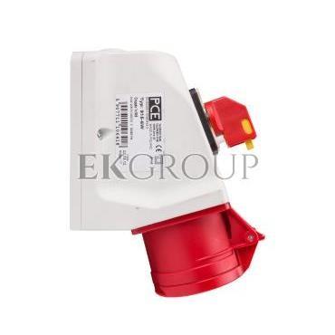 Gniazdo KOMBI z rozłącznikiem 0-1 M25 16A 5P 400V czerwone IP44 915-6w-174859