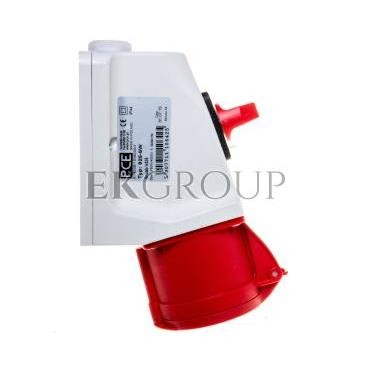 Gniazdo KOMBI z rozłącznikiem 0-1 M25 32A 5P 400V czerwone IP44 925-6w-174966