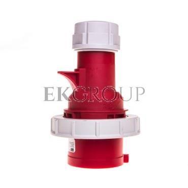 Wtyczka przenośna (zwrotnica faz) 32A 5P 400V czerwona IP67 SHARK 70252-6-175036