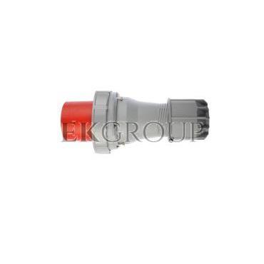 Wtyczka przenośna 125A 5P 400V czerwona IP67 POWER TWIST 045-6-174005
