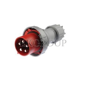Wtyczka przenośna 125A 5P 400V czerwona IP67 POWER TWIST 045-6-174006