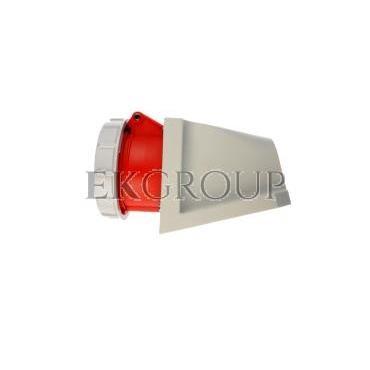 Gniazdo stałe 16A 5P 400V czerwone IP67 /bez dławnicy/ 1152-6-167734