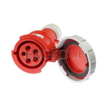 Gniazdo przenośne 32A 5P 400V czerwone IP67 SHARK 2252-6-168008