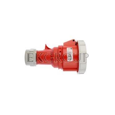 Gniazdo przenośne 32A 5P 400V czerwone IP67 SHARK 2252-6-168009