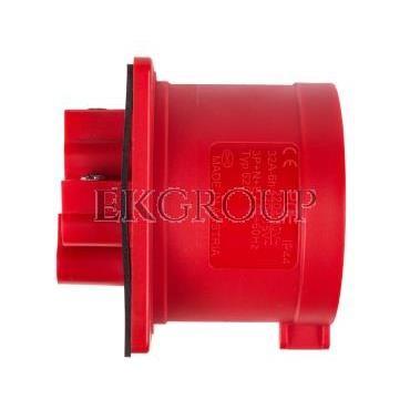 Wtyczka tablicowa 32A 5P 400V czerwona IP44 625-6-174440