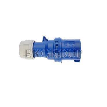 Wtyczka przenośna 16A 3P 230V niebieska IP44 SHARK 013-6-174016
