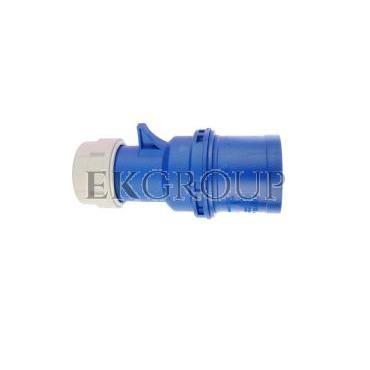 Wtyczka przenośna 32A 3P 230V niebieska IP44 SHARK 023-6-174018