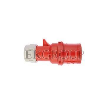 Wtyczka przenośna 32A 4P 400V czerwona IP44 SHARK 024-6-174022