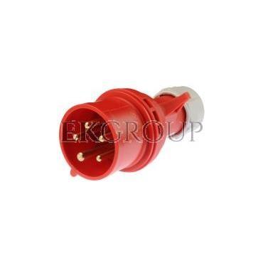 Wtyczka przenośna 16A 5P 400V czerwona IP44 SHARK 015-6-174024