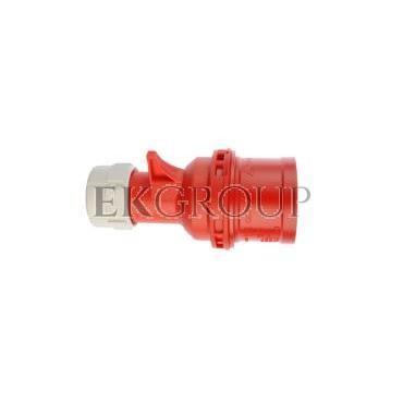 Wtyczka przenośna 16A 5P 400V czerwona IP44 SHARK 015-6-174025