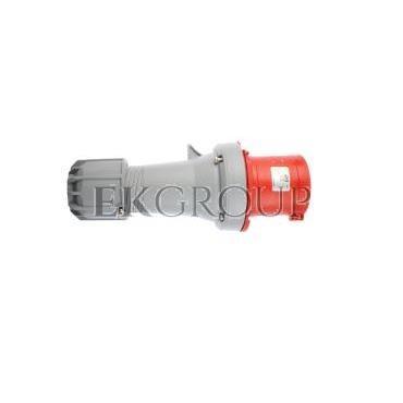 Wtyczka przenośna 63A 5P 400V czerwona IP44 POWER TWIST 0351-6-174028