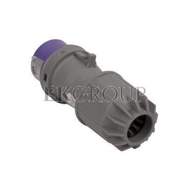 Wtyczka przenośna 16A 2P 24V fioletowa IP44 TWIST 062v-174030