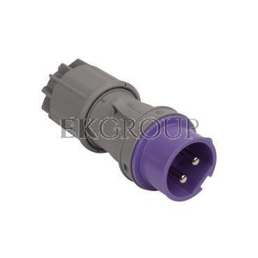 Wtyczka przenośna 16A 2P 24V fioletowa IP44 TWIST 062v-174031
