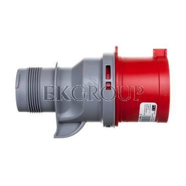 Wtyczka przenośna 32A 5P 400V czerwona IP44 TURBO SHARK 025-6TT-174094
