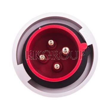 Wtyczka przenośna 32A 4P 400V czerwona IP67 SHARK 0242-6-174104