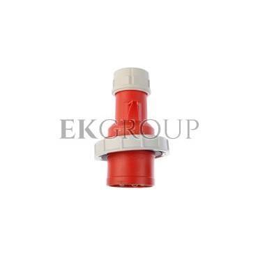 Wtyczka przenośna 32A 5P 400V czerwona IP67 SHARK 0252-6-174032