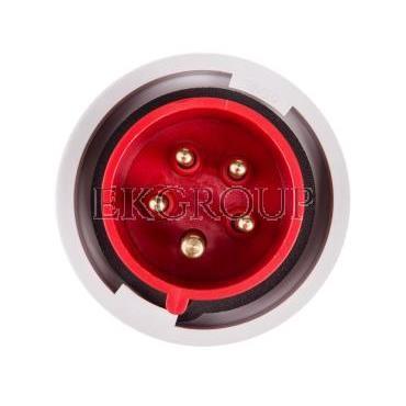 Wtyczka przenośna 16A 5P 400V czerwona IP67 SHARK 0152-6-174034