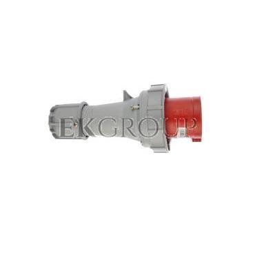 Wtyczka przenośna 63A 5P 400V czerwona IP67 POWER TWIST 035-6-174037