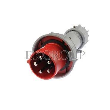 Wtyczka przenośna 63A 5P 400V czerwona IP67 POWER TWIST 035-6-174038