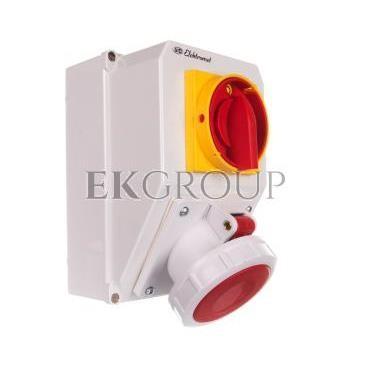 Zestaw instalacyjny z gniazdem 5P (0-I) 63A IP65 63-18N 936371-175003
