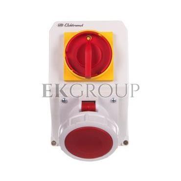 Zestaw instalacyjny z gniazdem 5P (0-I) 63A IP65 63-18N 936371-175004