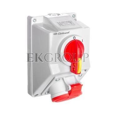 Zestaw instalacyjny z gniazdem 5P (0-I) 32A IP54 C32-18N 974005-167924