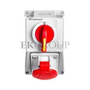 Zestaw instalacyjny z gniazdem 5P (0-I) 32A IP54 C32-18N 974005-167925
