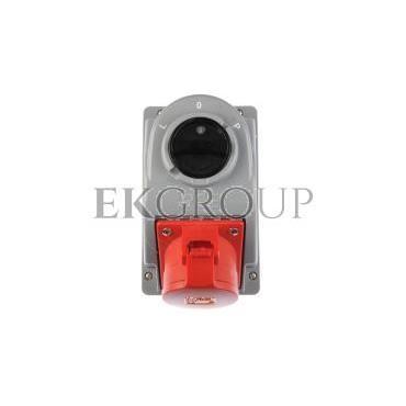 Gniazdo stałe z wyłącznikiem L-0-P 32A 5P 400V IP44 COMBO-POL 960625401W-174867