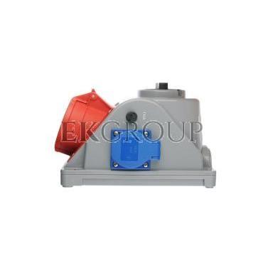 Gniazdo stałe z wyłącznikiem 0-1 32A 5P 400V   2P Z 230V IP44 COMBO-POL 96062541W-174880