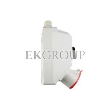 Zestaw instalacyjny z gniazdem 16A 4P (0-1) czerwony ZI02\R111-174895