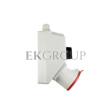 Zestaw instalacyjny z gniazdem 32A 4P (0-1) czerwony ZI02\R341-174902