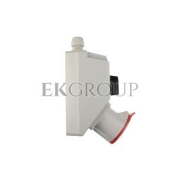 Zestaw instalacyjny z gniazdem 32A 4P (L-0-P) czerwony ZI02\R361-174905