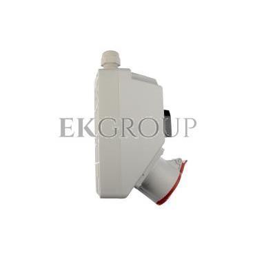 Zestaw instalacyjny z gniazdem 16A 5P (L-0-P) czerwony ZI02\R221-174920