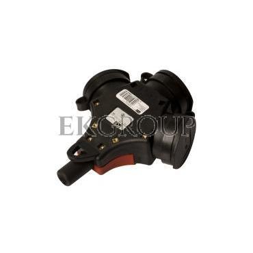 Rozgałęźnik gumowy do przedłużacza 3-gniazda z/u 10/16A 230V IP44 TAURUS 24311-sw-172551