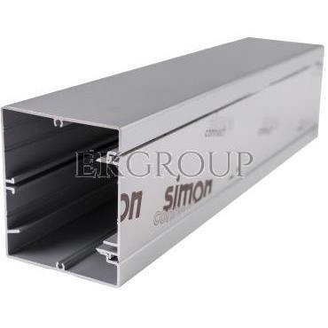Simon Connect Miniolumna ALK jednostronna 5xK45 anodyzowane aluminium ALK115/8-166974