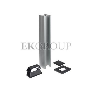 Simon Connect Minikolumna ALC dwustronna 20xK45 anodyzowane aluminium/ szary grafit ALC325/8/14-167003